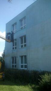 Mytí čištění fasády Třemošnice