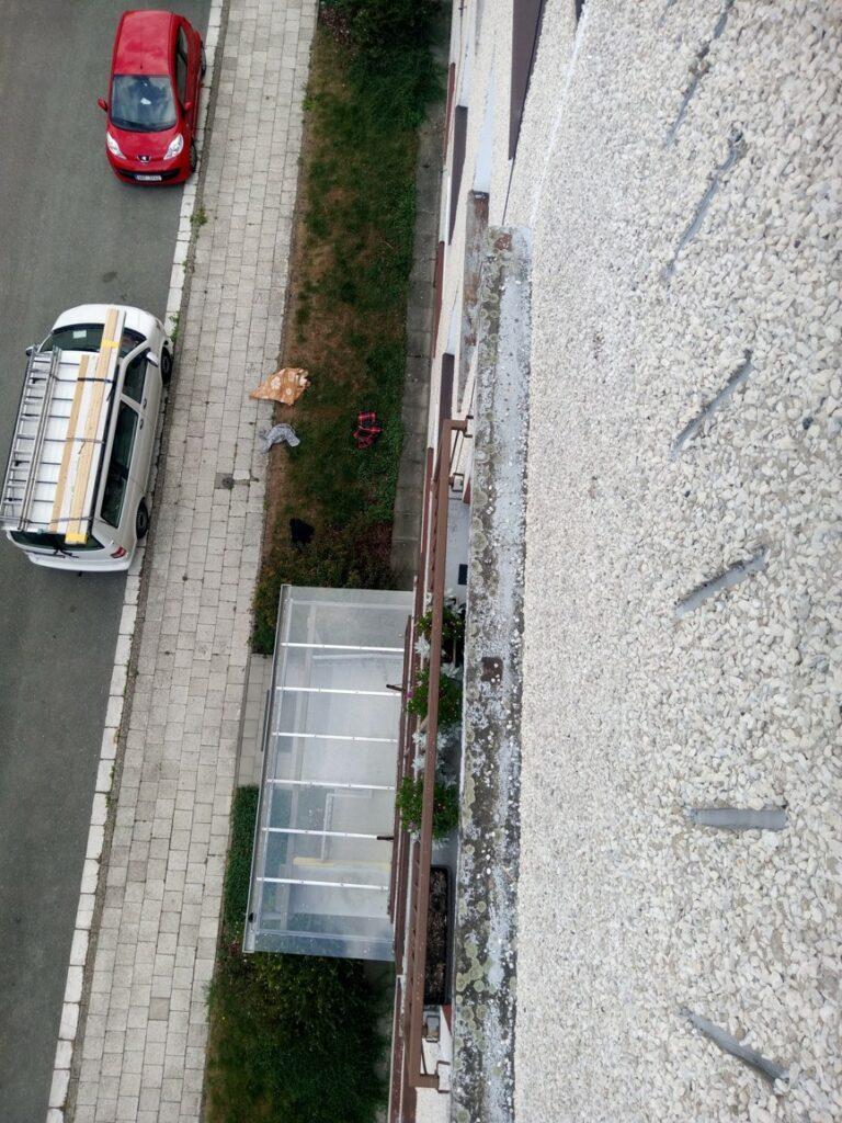 Zaslepení odvětrání panelový dům SVJ
