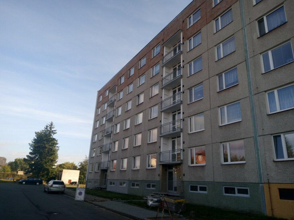 Oprava dilatačních spár panelových domů