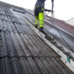 Čištění střechy eternit Náchod