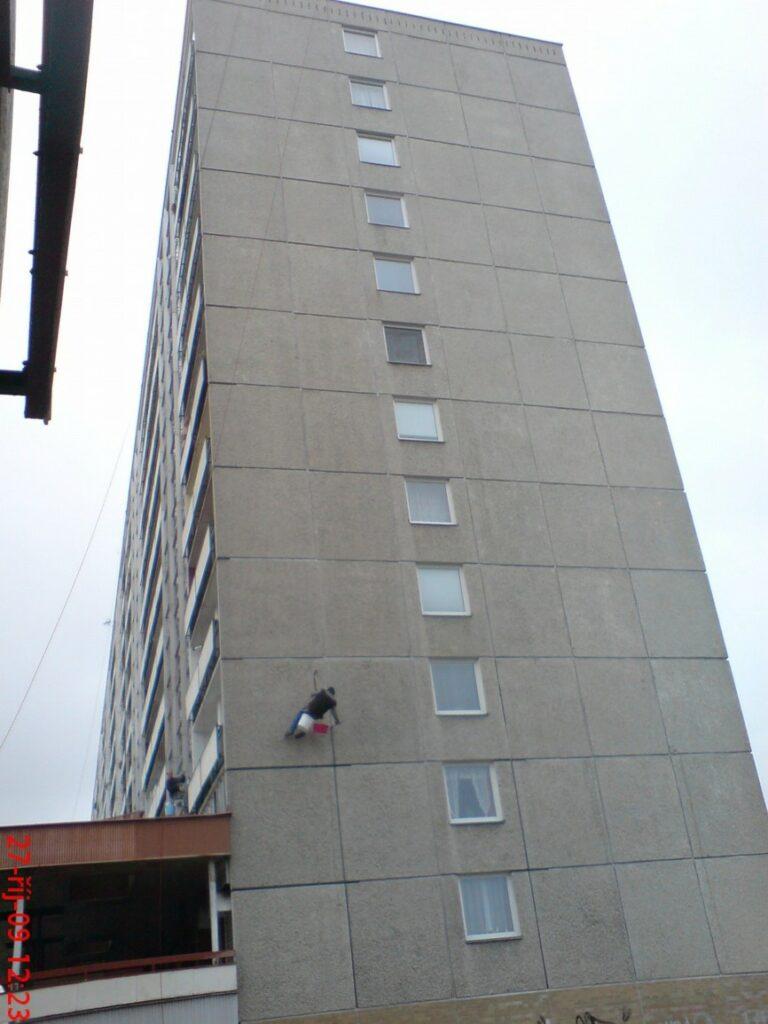 Oprava dilatačních spár panelových domů SIKA